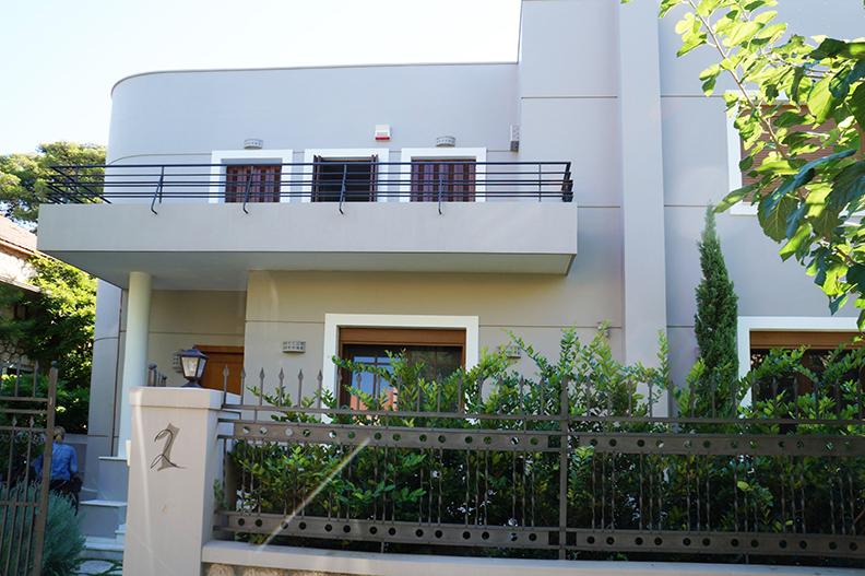 Ανακαίνιση μονοκατοικίας στην Κηφισιά, ανακαίνιση προσόψεων, εξωτερική θερμομόνωση 1